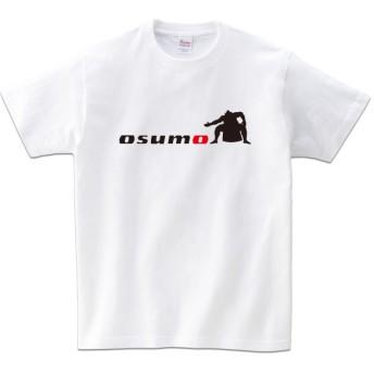 半袖Tシャツ(osumo・ホワイト)