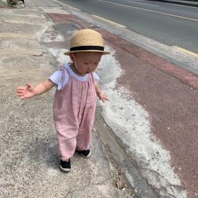 baby romper (pink)