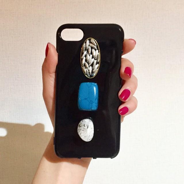 天然石のiPhoneケース