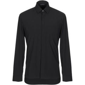 《期間限定セール開催中!》NEIL BARRETT メンズ シャツ ブラック S ナイロン 88% / ゴム 12%