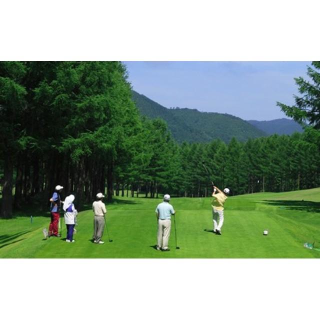 びわの平ゴルフ倶楽部 土休日セルフプレー券(昼食付)