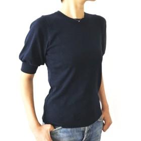 日本製オーガニックコットン 形にこだわった 大人のギャザー袖Tシャツ【サイズ・色展開有り】