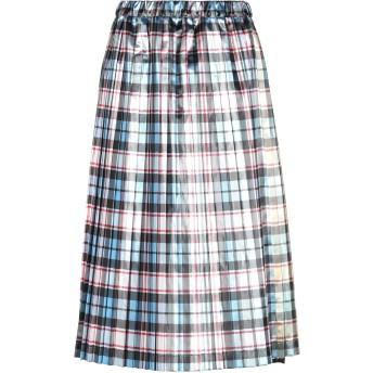 《セール開催中》N°21 レディース 7分丈スカート スカイブルー 40 ポリエステル 100%