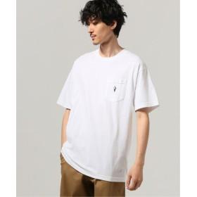 JOURNAL STANDARD LIXTICK Cutting Boy ポケット Tシャツ by Steve ホワイト M