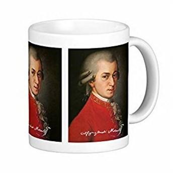 アマデウス・モーツァルトのマグカップ:フォトマグ