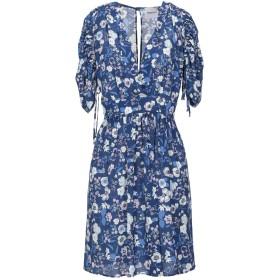 《セール開催中》ANNARITA N TWENTY 4H レディース ミニワンピース&ドレス ブルー 42 ポリエステル 98% / ポリウレタン 2%