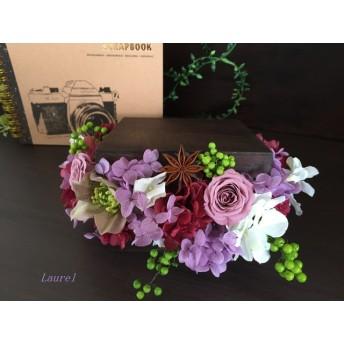 antique flower box