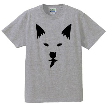【送料無料】■犬(鼻と口がクリオネ)のTシャツ【4色】 ■サイズはレディース-男女兼用まで各種あります●4色から選べます●オリジナル製作品