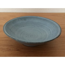 白萩釉平鉢