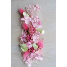 ピンク*花材 ハーバリウム/アクセサリー/ハンドメイド素材
