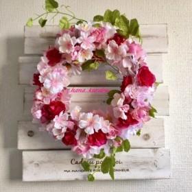 直径21㎝桜・さくらリースG