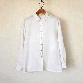 (送料無料)リネンのシャツ