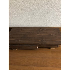 木製折りたたみテーブル(八の字)