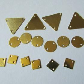 16個セット ローブラスの三角・丸・四角のコネクターセット