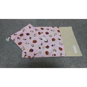 入園入学 給食袋とランチョンマット