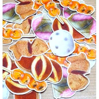 和菓子のフレークシール