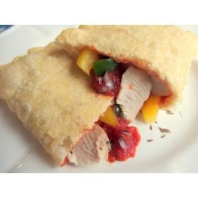 チキンと野菜のサルサソース