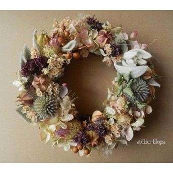 atelier blugra八ヶ岳〜(定形外郵便発送)MiniWreath009