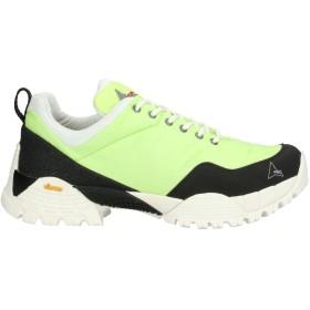 《セール開催中》ROA メンズ スニーカー&テニスシューズ(ローカット) ライトグリーン 41 紡績繊維