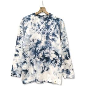 むら染め ロングスリーブ Tシャツ:LTS-031