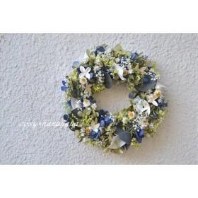 リモニュームとかすみ草小花wreath