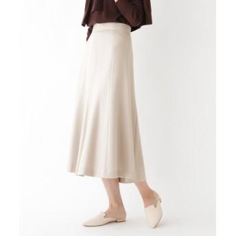 DRESSTERIOR(Ladies)(ドレステリア(レディース)) スムースウールパネルフレアスカート