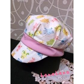 ベビー キャスケット帽