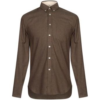 《セール開催中》RAG & BONE メンズ シャツ カーキ XS コットン 100%
