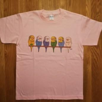 Tシャツ 【メンズS】「ジャンボセキセイ6」