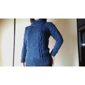 手編みのセーター#3