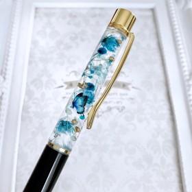 花集め ハーバリウムボールペン