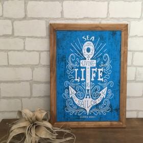 Blue Anchor ポスター