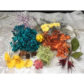 花材 ボリューム満点ハロウィンにも使える種類豊富セット