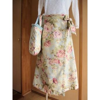 sale★薔薇の巻きスカート♪sk-m1