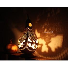 ひょうたんランプ- 深夜の森