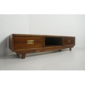 ハンドメイド 木製 無垢材 北欧デザイン テレビボード ローボード AVボード 150cm