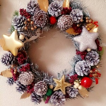 クリスマスリース 7