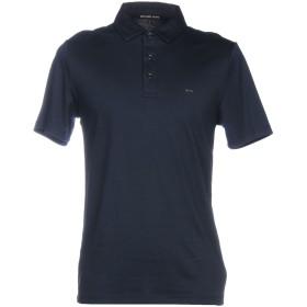 《セール開催中》MICHAEL KORS MENS メンズ ポロシャツ ダークブルー XS コットン 100%