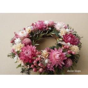 atelier blugra八ヶ岳〜(定形外郵便発送)小花のMiniWreath12