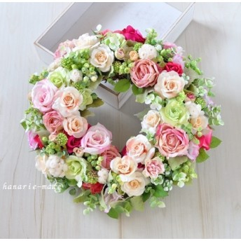 Rose rose ring :バラのリース