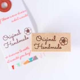 【オトナ可愛いはんこ】お花とoriginal handmadeはんこ