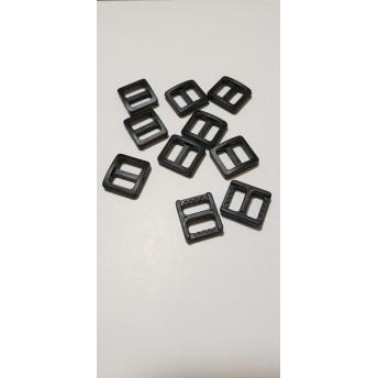 プラスチックアジャスター黒20個セット