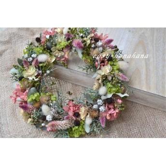色づきの森*秋wreath