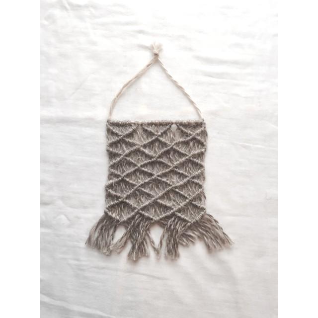 [再販]mini macrame tapestry マクラメタペストリー