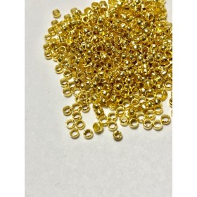 【287】真鍮製 つぶし玉 ゴールド 300個