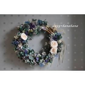 湖畔のかすみ草wreath