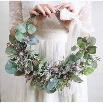 【1135】wreath bouquet/リースブーケ