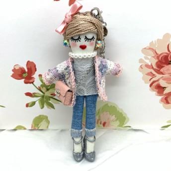 《受注作製》ピンクジャケットのルルベちゃん