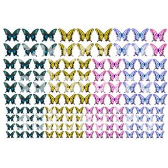 レジン封入用シート : Tiny Butterfly=2=