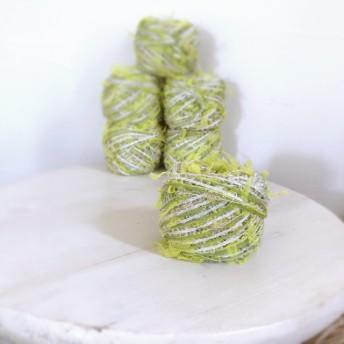 ライムグリーン 引き揃え糸